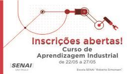 Aprendizagem Industrial - Curso gratuito
